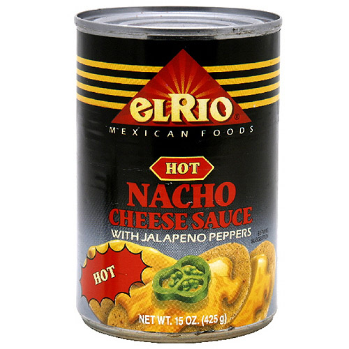 El Rio Hot Nacho Cheese Sauce, 15 oz (Pack of 12)