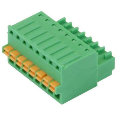 Imo Precision Controls Terminal Block Screwless 8 Pole 2 5Mm Pitch 2 Pack