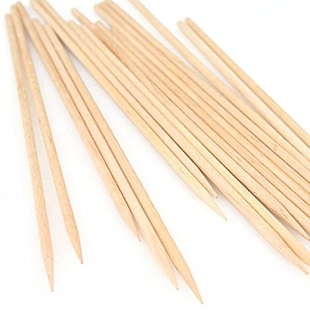 Royal Paper R818, 10-Inch Barbecue BBQ Shish Kebab Grilling Fondue Natural Wood Stick Skewers, Wooden Cocktail Picks, 1000-Piece Pack (Mc Donalds Barbecue)