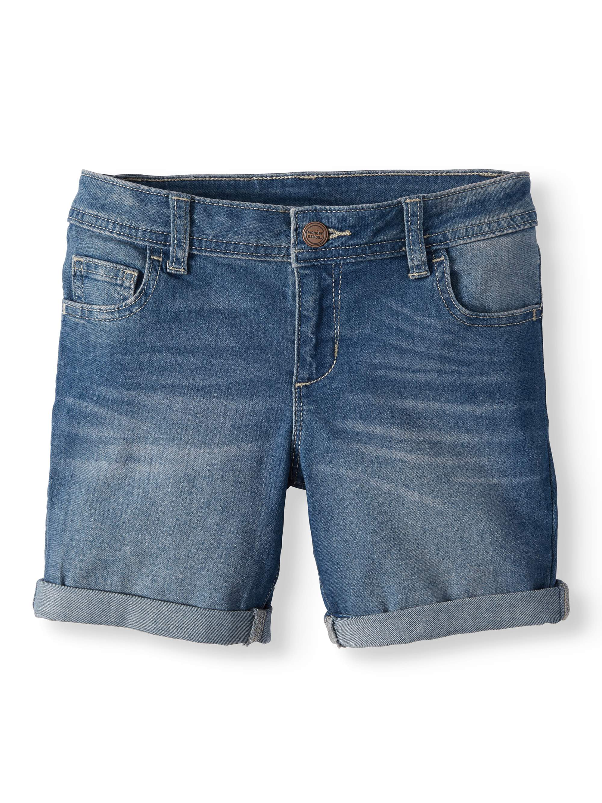 Denim Bermuda Short (Little Girls, Big Girls & Big Girls Plus)