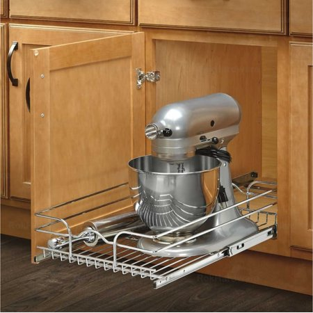 Double Pull Out Chrome Wire - Rev-A-Shelf 5WB Series 12