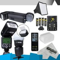 DigitalMate SB680 E-TTL Flash Kit & more for CANON DSLR Rebel T6i, T6s,T5i, T4i, T3i, T2i, T1i, T5, T3, XT, XSi, XS, EOS