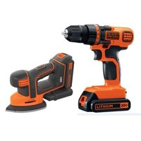 BLACK+DECKER 20V MAX + Free Cordless Drill and Mouse Combo Kit
