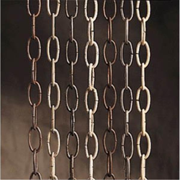 "Kichler Lighting Accessory - 36"" Decorative Chain, Olde Bronze Finish"