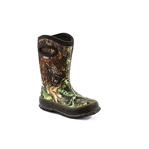 Perfect Storm Cloud High Kids Mossy Oak Camo Snow Boots by