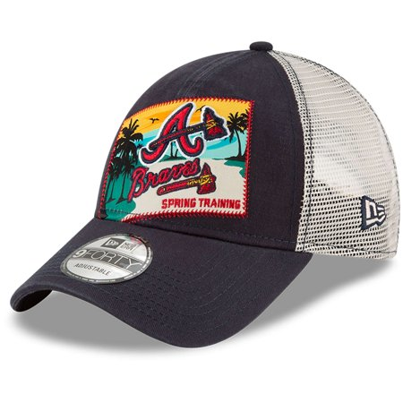 98dcb5b897fa3 Atlanta Braves New Era 2018 Spring Training Patched 9FORTY ...