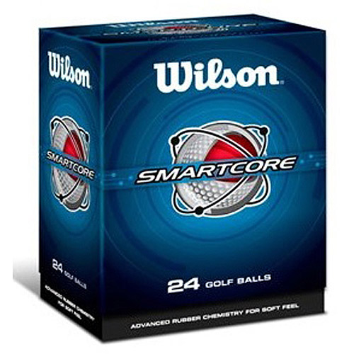 Wilson Smart-Core Golf Ball, 2 Dozen