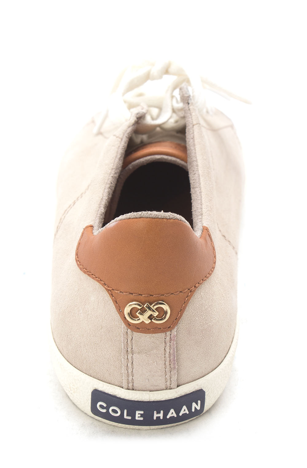 Cole Haan Womens Innozentiasam Low Top Lace Up Fashion, Beige/Brown, Size 6.0