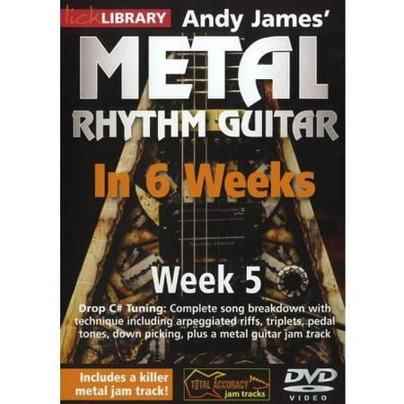 Methal Rhythm Guitar in 6 Weeks 5 (DVD) (This Week In Geek Halloween)
