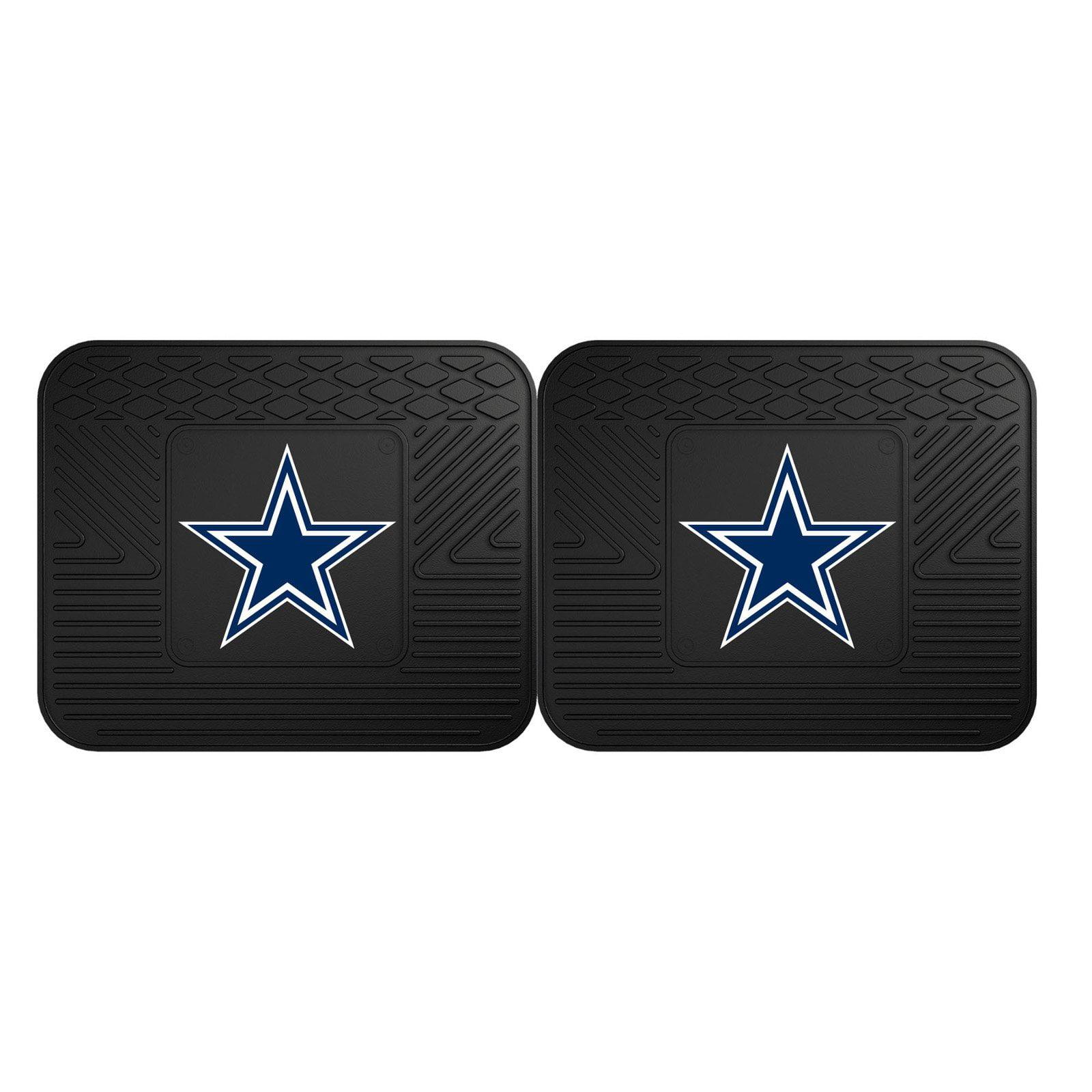 """Fan Mats Dallas Cowboys 2-pc Utility Mat 14""""x17"""""""