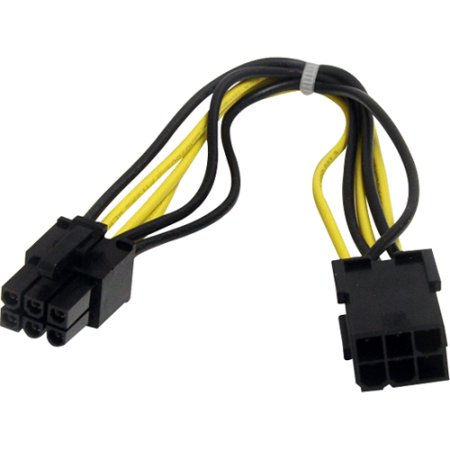 Express Extension - StarTech.com 8in 6 pin PCI Express Power Extension Cable PCIEPOWEXT
