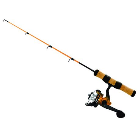 Frabill arctic fire ice rod and reel combination for Walmart ice fishing