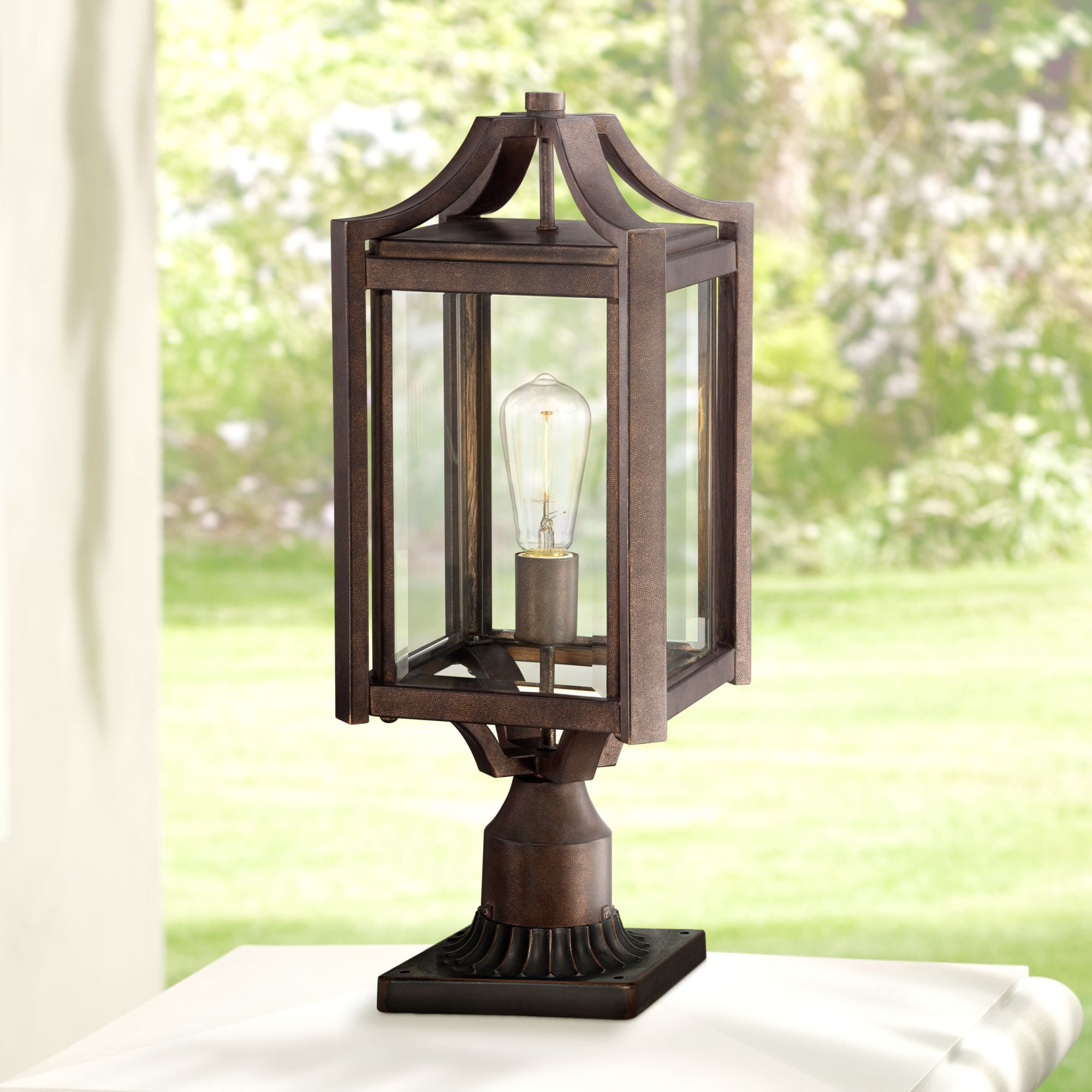 Us Home Exteriors Complaints: Franklin Iron Works Rustic Farmhouse Outdoor Post Light