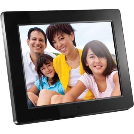 "Aluratek 12"" Digital Photo Frame with 2GB Built-In Memory (1280 x 800 resolution, 16:9 Aspect Ratio)"
