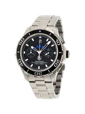 0351ec15923 Product Image Tag Heuer Aquaracer Black Dial Stainless Steel Men s Watch  CAK211A.BA0833