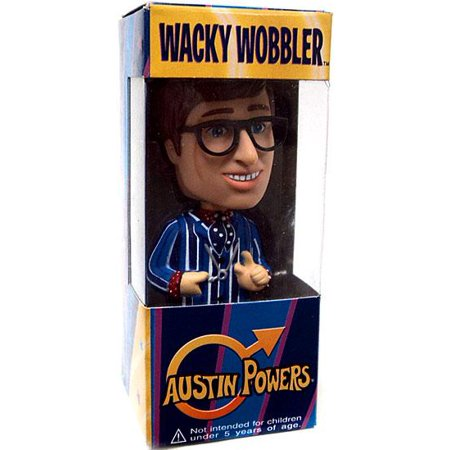 Funko Austin Powers Wacky Wobbler Mini Austin Powers Bobble Head