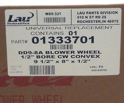 """01333701 LAU Wheel DD9-8 x 1//2/"""" CW Convex FACTORY NEW! 1"""