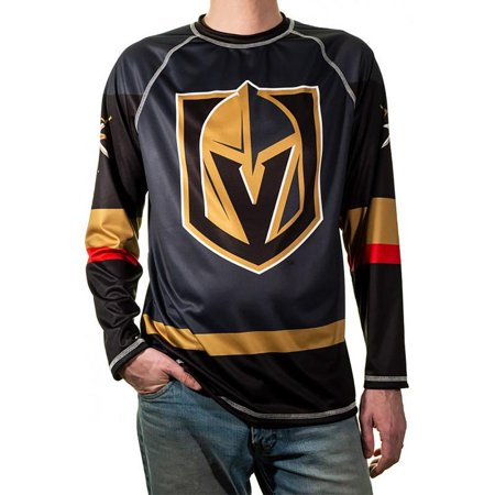 Performance Rash Guard (Vegas Golden Knights T-Shirt NHL Longsleeve Performance Jersey Rashguard)