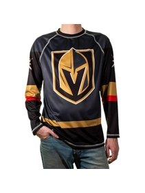 241e9e42eec3d Vegas Golden Knights T-Shirt NHL Longsleeve Performance Jersey Rashguard (S)