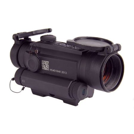 Holosun Red Dot Sight with Integrated Laser Sight 1x30mm 2 MOA Dot Green Laser Weaver-Style Mount Matte