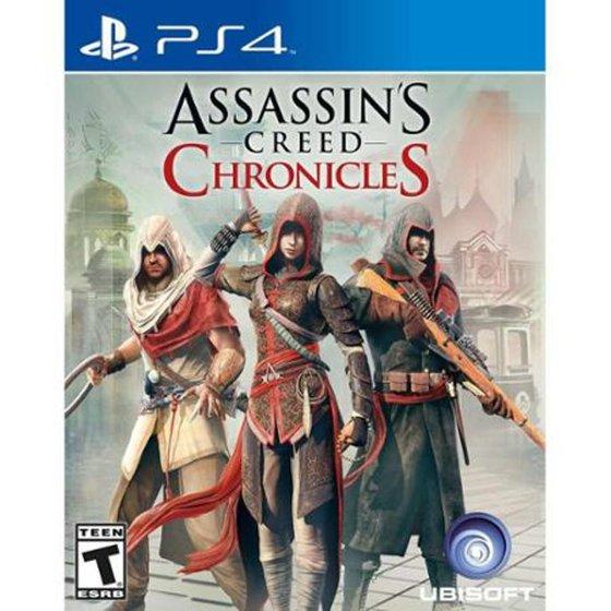 Kết quả hình ảnh cho Assassin's Creed Chronicles cover ps4
