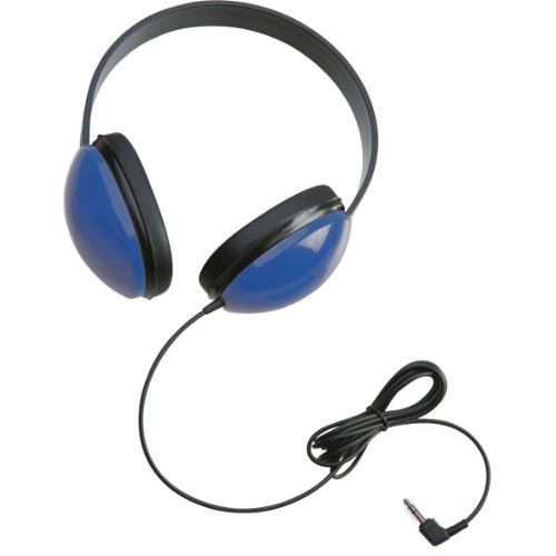 Califone Childrens Stereo Blue Headphone Lightweight Via Ergoguys - Stereo - Blue - Mini-phone - Wired - 25 Ohm - 20 Hz