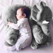 Stuffed Animal Cushion Kids Baby Sleeping Soft Pillow Toy Cute Elephant Cotton