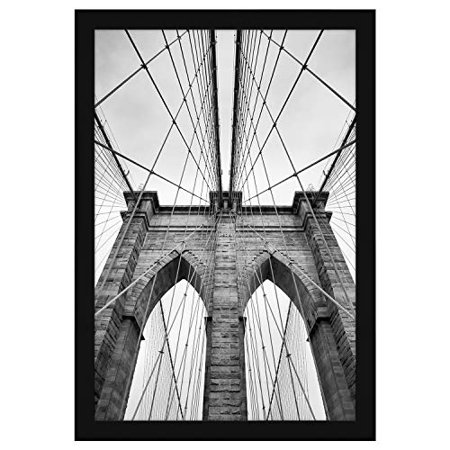 Americanflat 20x30 Black Poster Frame - Thick Molding - Hanging Hardware Included Thick Steel Frame