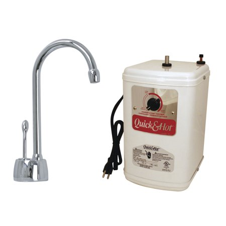 - HotMaster Instant Hot Water System with Solid Brass Faucet, Polished Chrome, D271H-26