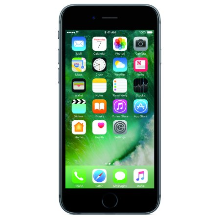 AT&T PREPAID iPhone 6s 32GB Prepaid Smartphone, Space Gray w/ $45 airtime