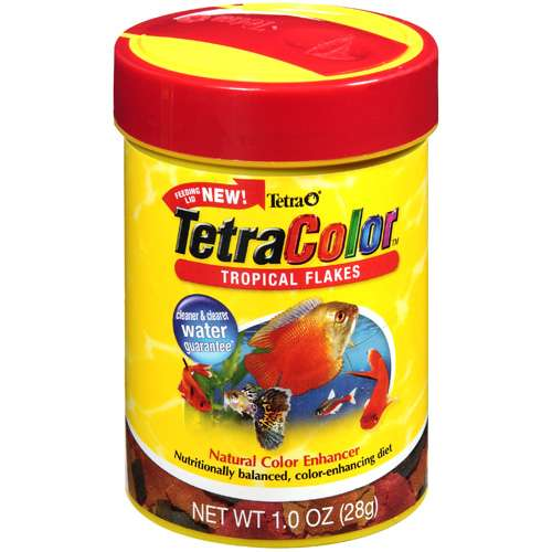 Tetra Tetracolor Tropical Flakes, 1 oz