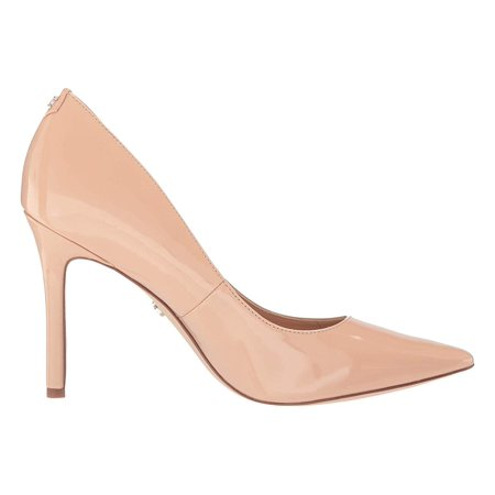 Sam Edelman Hazel Nude Blush Patent Lacoste Infant Shoes