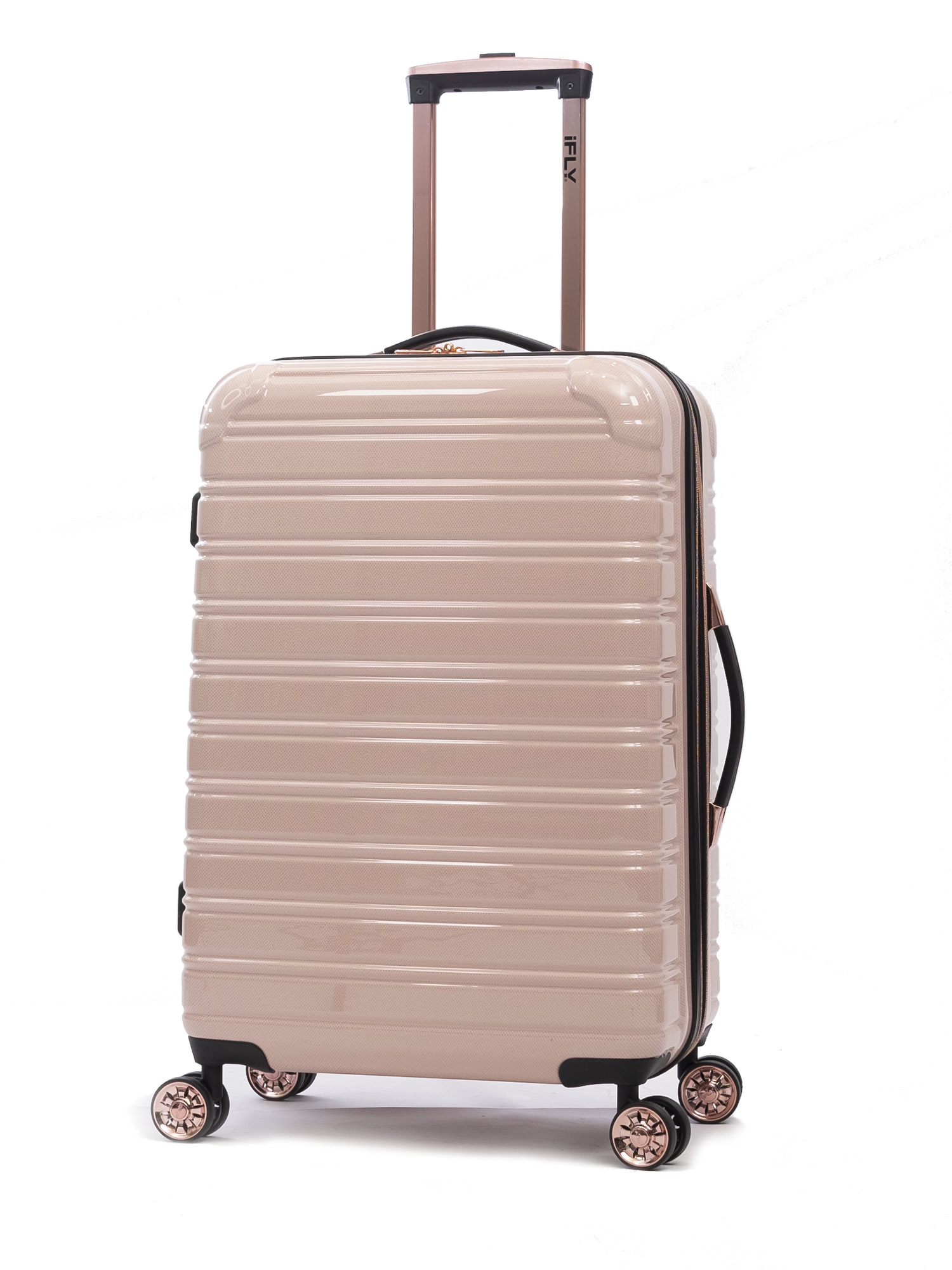 "iFLY Hardside Fibertech Luggage 24"" Checked Luggage"