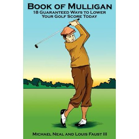 Mulligan Golf Pouch (Book of Mulligan : 18 Guaranteed Ways to Lower Your Golf Score)
