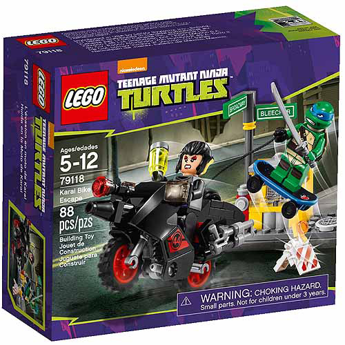 LEGO Ninja Turtles Karai Bike Escape Play Set