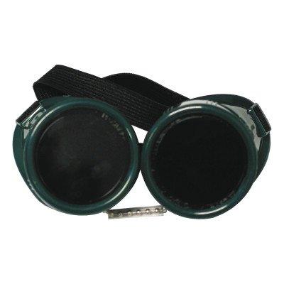 Cup Goggles, Hard Plastic, Green