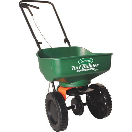 Scotts Turf Builder EdgeGuard Mini Broadcast Fertilizer (Best Push Fertilizer Spreader)