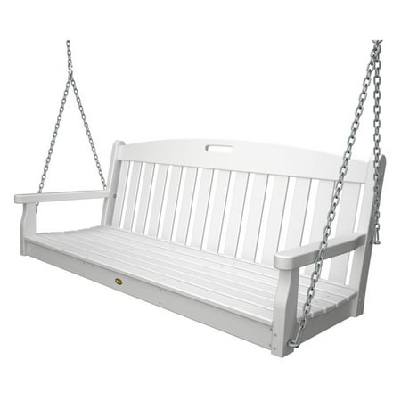 Trex Outdoor Furniture Recycled Plastic 5 ft. Yacht Club Porch Swing ()
