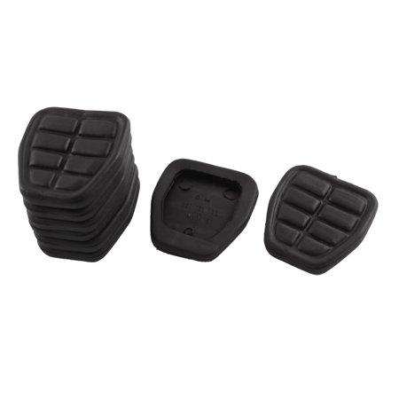 Unique Bargains Clutch Brake Pedal Pad Rubber Set 321721173 8 Pcs for  -