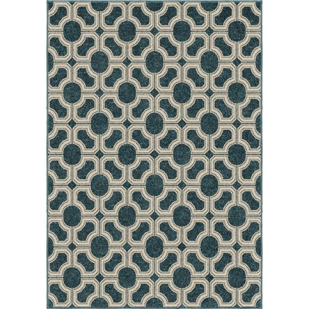 Orian Rugs Huron Azo Blue Area Rug by  - 5'2