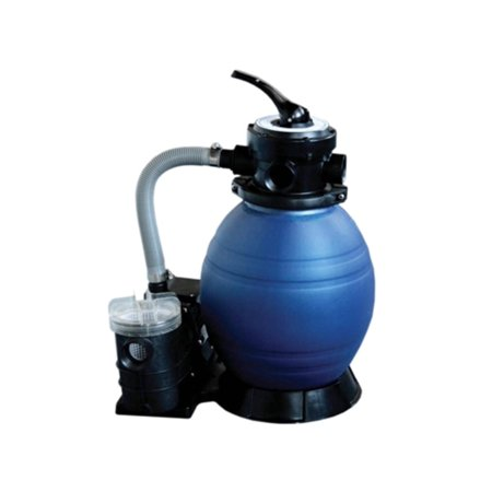 12 Top Mount Above Ground Swimming Pool And Spa Sand Filter And 25 Hp Pump System