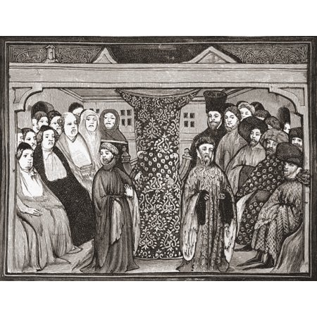 Parliament Deposing Richard Ii And Electing Henry Iv In 1399 From The Book Short History Of The English People By JR Green Published London 1893 Canvas Art - Ken Welsh  Design Pics (16 x 12)](Halloween History Pics)
