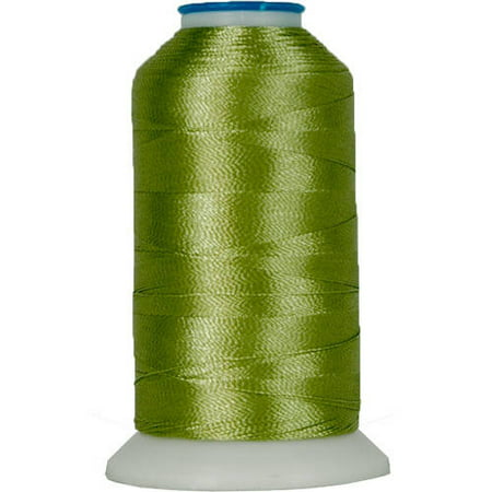 Med Foam Rod - Threadart Rayon Machine Embroidery Thread - No. 222 - Avocado - 1000M - 145 Colors