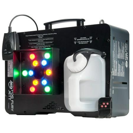 American DJ Fog Fury Jett 700W Dmx Vertical Fog Machine & Color Mixing Closeout - Factory Certified Refurbished - Halloween Closeout