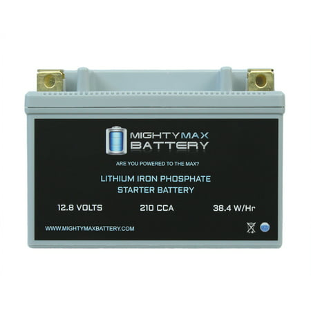YTX9-BS Lithium Battery Replaces Duralast Motorcycle PowerSport