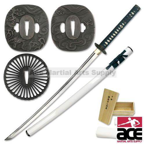 Masahiro Japanese Sword White Katana Assembly Kit
