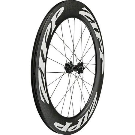 (Zipp 808 Firecrest Carbon Tubeless Disc Brake Front Wheel 700c 24 Spokes 77)