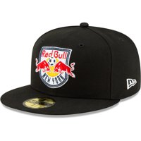New York Red Bulls New Era Primary Logo 59FIFTY Fitted Hat - Black