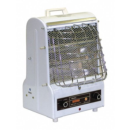 Commercial Fan Forced Wall Heater - MARKEL PRODUCTS Port. Elec. Heater,1500 W,5120 BtuH 198-TMC