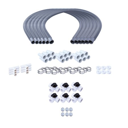 Kokido Bypass Kit for Above Ground Swimming Pools Solar Water Heaters (6 Pack)